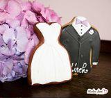 Perníkový svadobný oblek